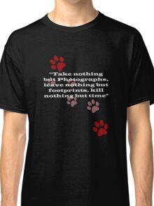 T-Shirt - Only Footprints v3 Classic T-Shirt