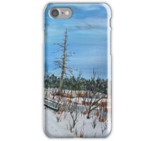 Pike Branch Crossing iPhone Case/Skin
