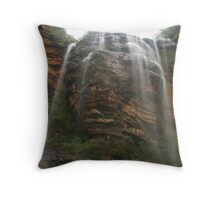 Wentworth Falls .. the first spray Throw Pillow