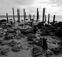 The old pier by Adam Edwards