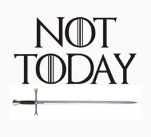 Not Today - Arya Stark (GOT) by meltrindade