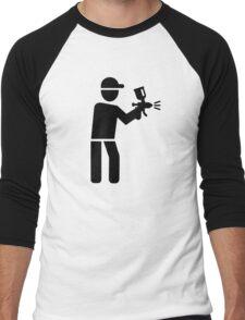 Lacquerer Men's Baseball ¾ T-Shirt