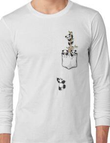 POCKET PANDAS Long Sleeve T-Shirt