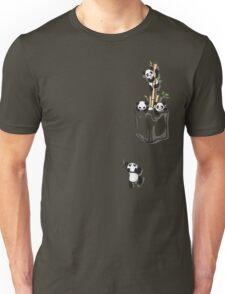 POCKET PANDAS Unisex T-Shirt