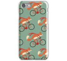 fox pattern iPhone Case/Skin