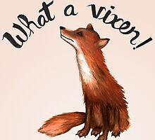 What a Vixen! by strangecharmart
