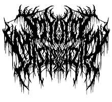 My Lady, Mistress Aria White shirt/ black logo by pillarsof
