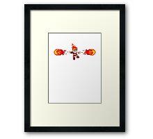 The Pyromancer  Framed Print