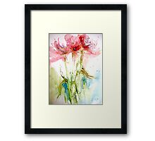 The Last Applause.... Framed Print