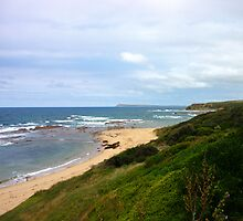 Along the coast - Kilcunda, Victoria by Rosie Appleton