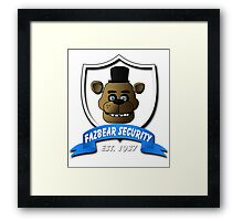 Five nights at freddy's Framed Print