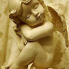 Cherub of Happiness by Bev Woodman