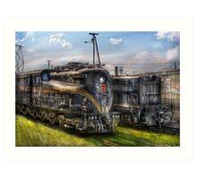 2-c-c-2 - Pennsylvania Railroad electric locomotive  #4919  Art Print