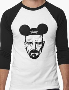 Walter Mouse Men's Baseball ¾ T-Shirt