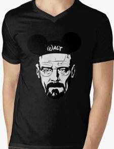 Walter Mouse Mens V-Neck T-Shirt