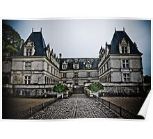 Villandry Castle Entrance - Loire Valley - France Poster