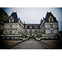 Villandry Castle Entrance - Loire Valley - France Photographic Print