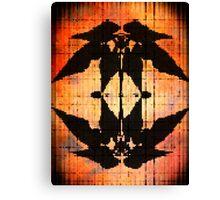 Western Leaf Pattern Canvas Print