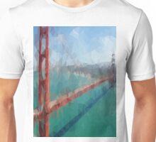 Triangular Golden Gate Unisex T-Shirt