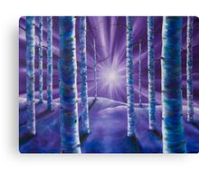 Amethyst Winter Canvas Print