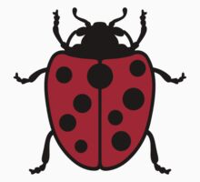 Ladybug One Piece - Short Sleeve