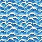 sea wave pattern by Tanor