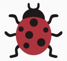 Ladybird One Piece - Short Sleeve
