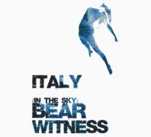 Bear-Witness: Italy(in the sky)  Kids Tee