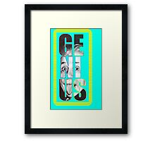 Colorful Genius Framed Print
