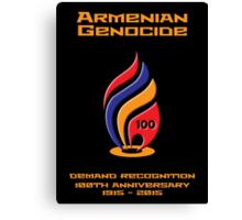 Armenian Genocide 100yr Anniversary Canvas Print