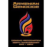 Armenian Genocide 100yr Anniversary Photographic Print