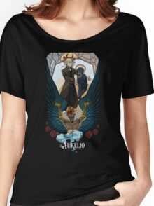 Aurelio - Stain glass  Women's Relaxed Fit T-Shirt