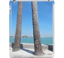 Three Palm Trees iPad Case/Skin