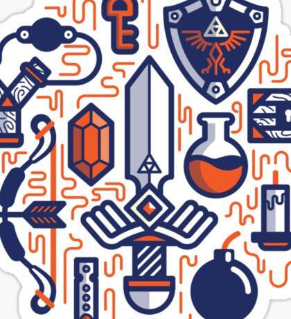 Zelda Essentials Sticker