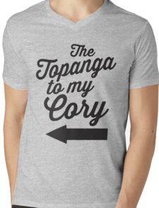 The Topanga To My Cory / Boy Meets World / Girl Meets World / The Cory To My Topanga Couples Matching Shirts Mens V-Neck T-Shirt