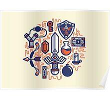 Zelda Essentials Poster