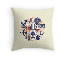 Zelda Essentials Throw Pillow