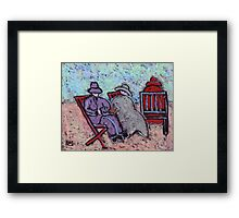 Fred Glady's and the mother in law Framed Print