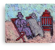 Fred Glady's and the mother in law Canvas Print