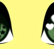 Big Green Eyes by lazy-weeaboo