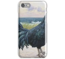 """Off Duty ( Rooster 3)"" iPhone Case/Skin"