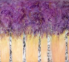 Purple Birch by Anivad - Davina Nicholas
