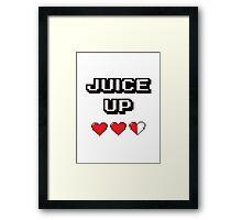 Juice Up  Framed Print