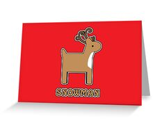 Say What You See.... For Christmas Greeting Card