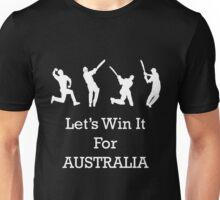 Let's Win It for Australia! Unisex T-Shirt