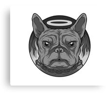 Bad dog, good dog? Canvas Print
