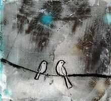 Birds on a Wire by kareywalter