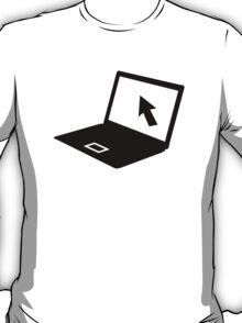 Notebook laptop mouse cursor T-Shirt