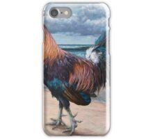 Pensive Gait (Rooster 4) iPhone Case/Skin
