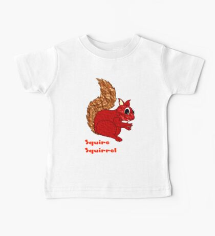 Squire Squirrel T-shirt design Baby Tee